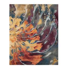 "Nourison Prismatic Multicolor Area Rug, 7'9""x9'9"""