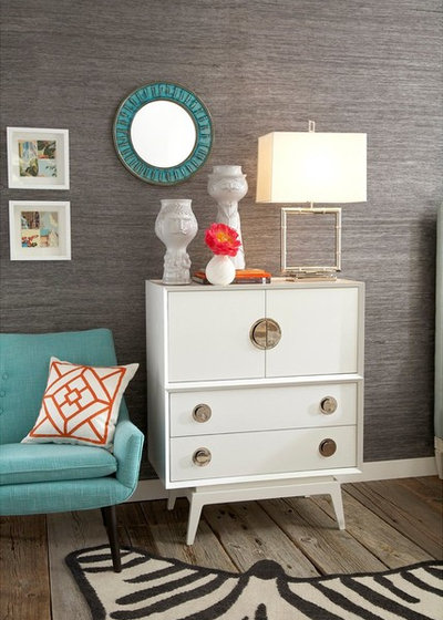 surprising modern living room credenza | 9 Ways to Style That Credenza