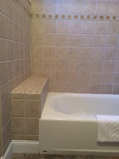 Ideas For 1 Foot Space At End Of Tub