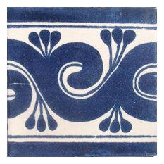 "4""x4"" Mexican Ceramic Handmade Tile #C067"