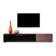 Producer TV Stand, Light Walnut
