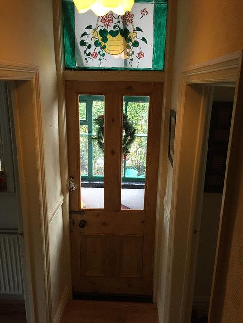 Edwardian House Porch Exterior Doors