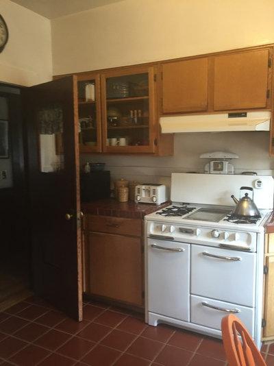 Craftsman  Alameda Retro Kitchen Remodel