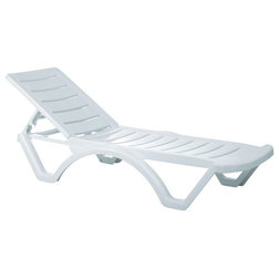 Contemporary Outdoor Chaise Lounges by BisonOffice