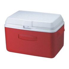 Rubbermaid Victory Cooler, Red, 34 qt.