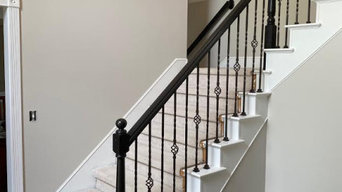 Interior Paint: Walls + Staircase