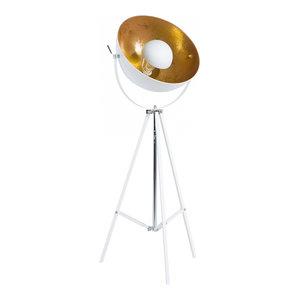 Thames II Tripod Floor Lamp, White