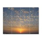 "Sunsets Photo Backsplash Tile Mural 5, 48""x36"""