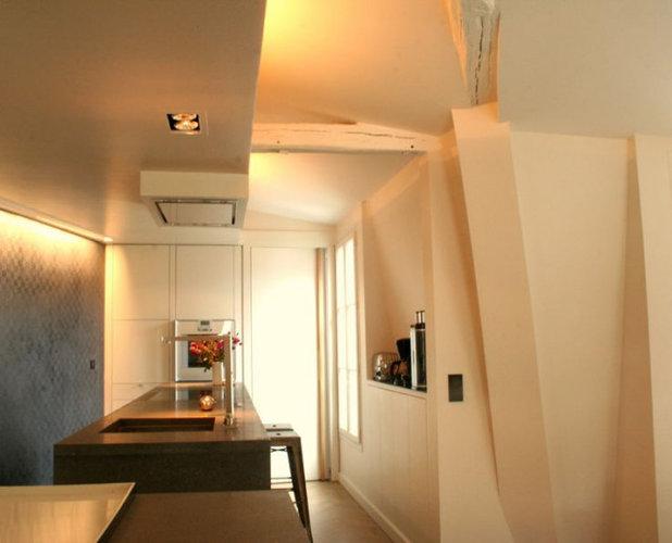 Sur les toits- duplex Paris07