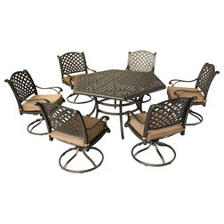 Traditional Outdoor Dining Sets by iPatio Furniture