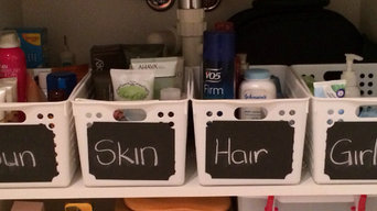 Organised Bathroom