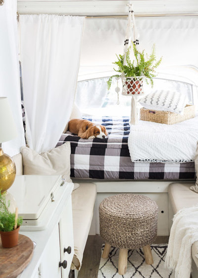 Scandinavian A Used Pop Up Camper Budget And Chic Style