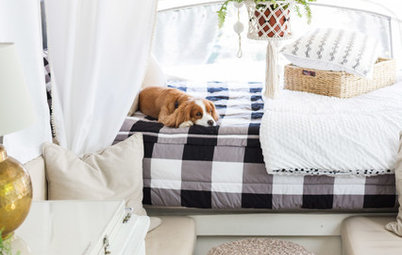 A Used Pop-Up Camper, a Tight Budget and Chic Scandinavian Style