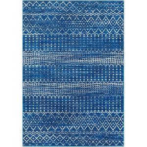 "Harput Hap-1095 Bright Blue Rug, 9'3""x12'6"""