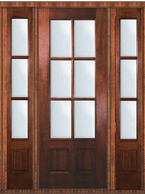 6 lite french doors for Double hung french patio doors