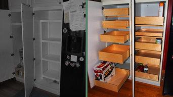 ShelfGenie Glide-Out Shelves