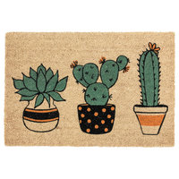 "Arizona 24""x36"" Coir Doormat by Kosas Home"