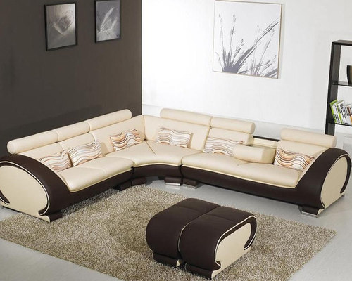 Corner Sectional Sofas, Genuine Italian Quality Leather L Shape Couches