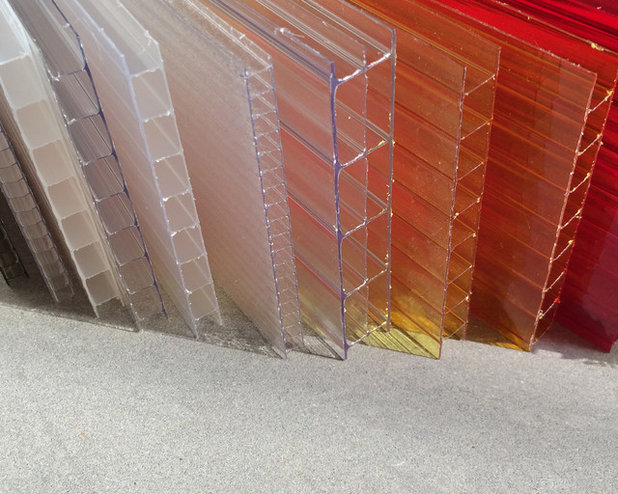 Materials workshop polycarbonate a low cost alternative to glass Materials for exterior walls