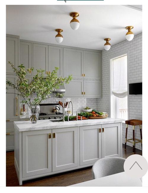 Recessed kitchen cabinet hardware--please help!