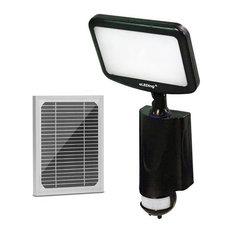 eLEDing 5th Gen 180 Degree CREE LED AI Smart Solar Outdoor Flood Light in Black