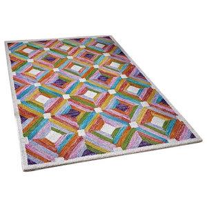 Jasper Mosaic Rectangular Funky Rug, 80x150 cm