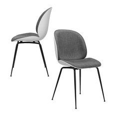 Whitney Side Chairs, Set of 2, Dark Gray
