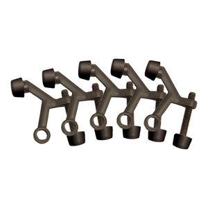 Design House 181776 Standard Hinge Pin Door Stop Satin Nickel 5-Pack