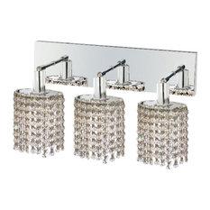 Swarovski Crystal Bathroom Vanity Lights Houzz