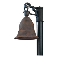 Liberty, Outdoor Post Lantern, Incandescent, Centennial Rust Finish