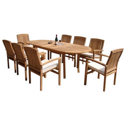 Contemporary Outdoor Dining Sets by Teak Deals