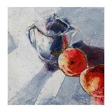 Peinture à l'Huile Pom,pom,pom 7  - Sylvaine Catoire