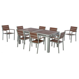 Contemporary Outdoor Dining Sets by CRB Sourcing LLC