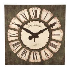 - Reloj gigante envejecido - Relojes de pared