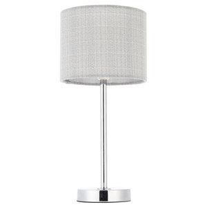 Haddon Table Lamp, Polished Chrome