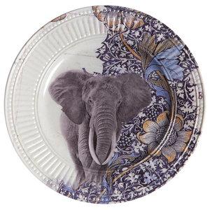 Jungle Elephant Side Plates, Set of 2