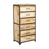 Cosmos Industrial Tall Chest of Drawers