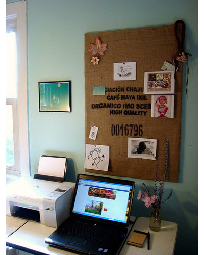 Coffee Sack Inspiration/cork Board On Flickr   Photo Sharing!