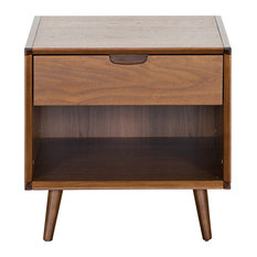 Walnut Nightstands and Bedside Tables