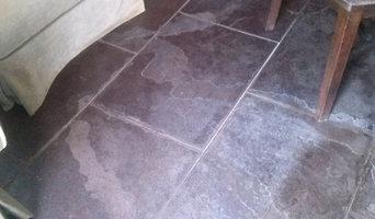 1940's Asphalt floor before
