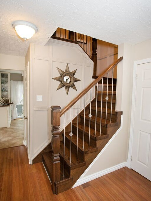 hour glass posts modern stair case products