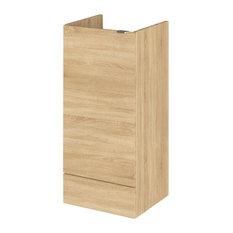 Eleanor Bathroom Vanity Unit Base, Natural Oak, 40 cm