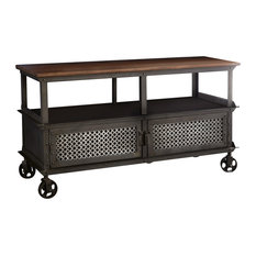 Davis Reclaimed Metal TV Unit