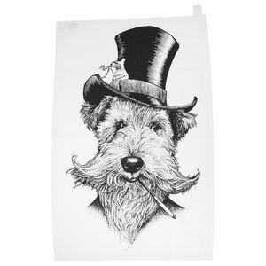 Sir Lancelot Tea Towel