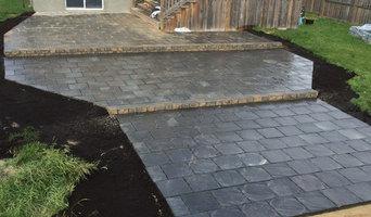 Oakbank - tiered patio