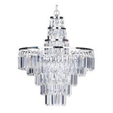 Vasca Crystal Bar 4 Light Bathroom Chandelier, Chrome