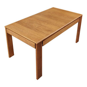 8 Person Olten Oiled Oak Extending Dining Table with Drawers