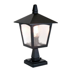 Elstead Lighting - Traditional Old English Style Outdoor Pedestal Lantern - Lamp Posts