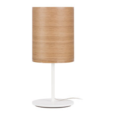 Veneli Table Lamp, Natural Oak Veneer