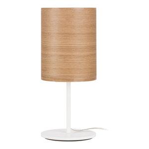 Veneli Table Lamp, Natural Oak Veneer